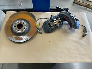 2015 2019 Ford Mustang Gt Front 6 Piston Brembo Brake Calipers Rotors Oem