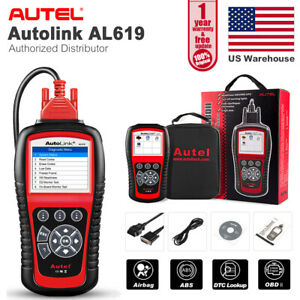 Autel Al619 Check Engine Abs Airbag Srs Lamp Reset Auto Scan Car Diagnostic Tool