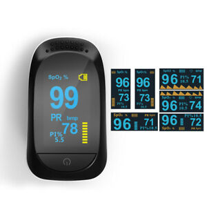 Advanced Finger Pulse Oximeter Oled Display With Sleep Monitor Imdk C101a2