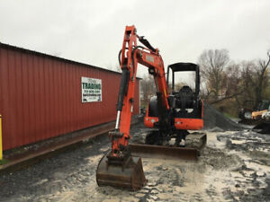 2015 Kubota Kx040 4 Hydraulic Mini Excavator Very Clean W Wrist o twist