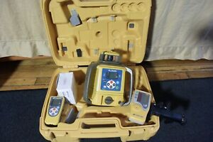 Topcon Dual Grade Red Beam Self Leveling Laser Level Model Rl sv2s Clean