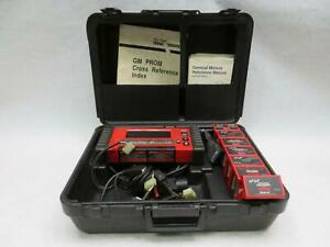 Snap On Mtg2500 Diagnostic Graphing Scanner With Accessories
