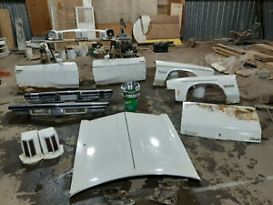 Used Parts For 74 75 Olds Cutlass Front Clip Doors Bumpers Trunk Lid Lites