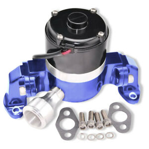 High Flow Electric Aluminum Chrome Water Pump For Small Block Chevy Engines 350