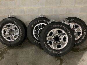 18 Dodge Ram 2500 Oem Factory Stock Chrome Wheels Rims And Tires 8x165 A