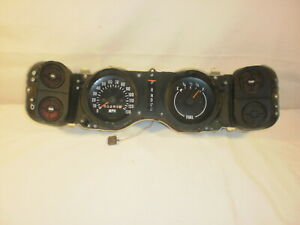 1970 73 Chevy Camaro Gauge Assembly W 130 Mph Speedometer