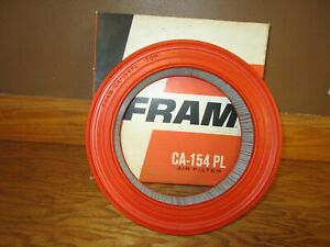 Nos Fram Air Filter Ca 154 Pl 1958 1959 1960 Edsel T Bird Ford Mercury Ranchero