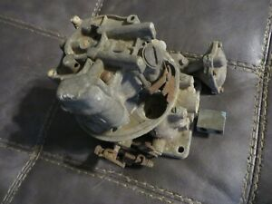 1956 Ford Thunderbird 292 Holley Teapot Type Carburetor