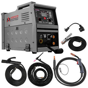 Amico Mig 140gs 5 in 1 Combo 140a Mig mag flux cored lift tig stick Arc Welder