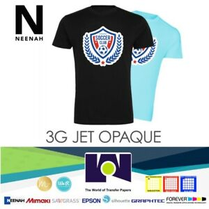 Neenah Ink Jet 3gopaque Dark Heat Transfer Paper 8 5 x11 100 Sheets Made In Usa