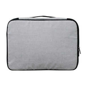 Papers File Organizer With Lock Home Large Capacity Document Storage Bag Travel