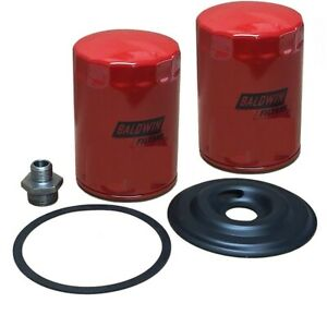 Oil Filter Adapter Conversion Kit Fits Ford 800 801 Series Tractors