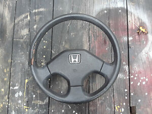 90 91 Honda Crx Si Steering Wheel Oem Not Perfect Civic Del Sol Accord Other