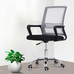 Computer Desk Chair Set Mid back Mesh Home Office Ergonomic Chair Executive Task