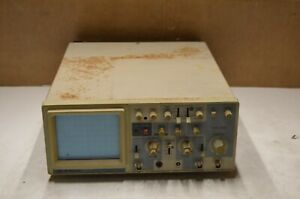 Bk Precision 2120a 20mhz Oscilloscope For Parts