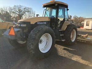 2002 New Holland Tv140 4x4 W 22 Ft Flail Mowers snow Blower loader