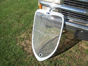 Org 1933 Ford Steel Grill Shell Sedan Roadster Coupe 34 Trog Jalopy Rat Rod Hot