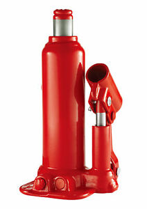 Hyper Tough Red Hydraulic 2 Ton Bottle Jack 4000lbs Capacity T90203