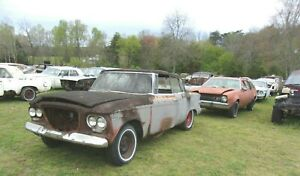 1961 Studebaker Lark Unknown Linkage Rods Project Parts 61