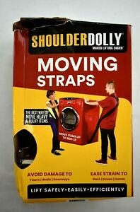 Shoulder Dolly Moving Straps 1 Size 2 Person Lifting Moving Furniture Appliances