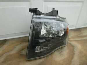 2007 2014 Ford Expedition Front Left Driver Side Headlight Light Lamp Oem