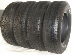 Used Set Of 4 Kelly Tires 195 70r14 Kelly Charger Rwl 91s 1957014