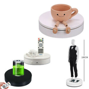 110 220v Electric Turntable Remote Control Speed 360 Rotating Display Stand