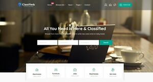 Classifieds Website Free Installation Hosting