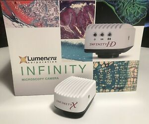 Lumenera Infinity X 32c Microscope 32mp Color Camera With Cable Software Demo