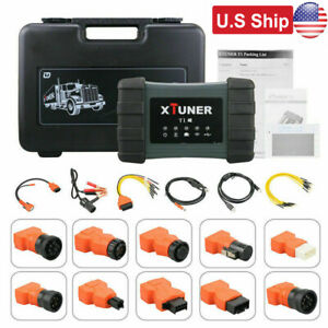 Usa Ship Xtuner T1 Heavy Duty Diesel Diagnostic Scanner Tool Truck Code Reader