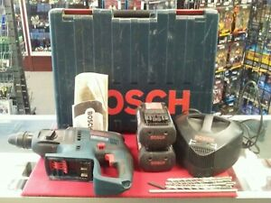 Bosch 36v Cordless Hammer Drill With Batteries And Charger