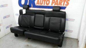 2004 05 06 07 08 Ford F150 Lariat Crew Cab Oem Rear Seat Black Leather
