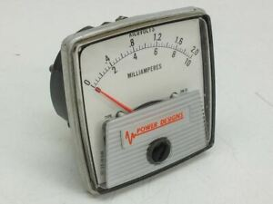 General Electric Milliampers Kilovolts Meter 0 10ma 0 2 0 Power Designs Dw 91