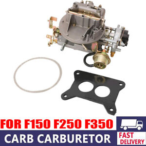 2 Barrel Engine Carburetor Carb Fit For Jeep Ford F 150 F250 F 350 Mustang 2150