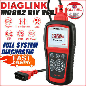 Latest Autel Diaglink Diy s Maxidiag Elite Md802 All System Diagnostic Scan Tool