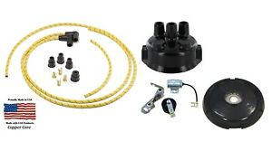 Ignition Tune Up Kit John Deere 620 630 Tractor 2 Cyl Distributor