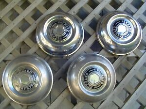 Vintage 51 54 Packard Senior Series Deluxe 200 250 300 Mayfair Patrician Hubcaps