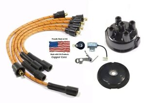 Allis Chalmers Wc Wd Wd45 Wf Delco Distributor Ignition Tune Up Kit
