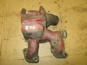 International Farmall 856 1206 1256 1456 Thermostat Upper Water Pipe Housing