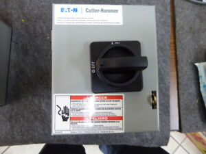 Eaton Cutler hammer Dr3016ug Rotary Disconnect Switches New