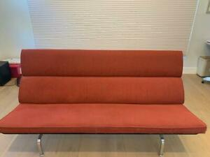 Herman Miller Eames Compact Sofa Authentic Original Mid Century Modern
