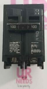 Murray Mp2100p 100 Amp 2 In Double pole Type Mp t Circuit Breaker