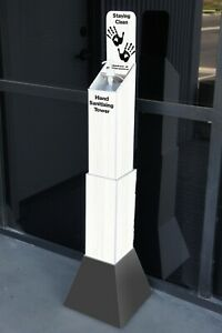 Retail Office Display Stand With Bottle Of Santizer