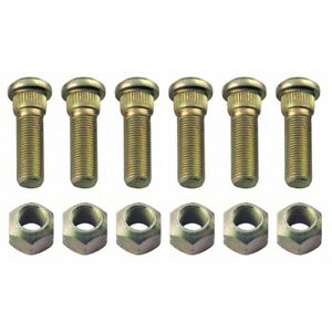 Front Wheel Lug Stud Nut Set Ford Naa 600 700 800 900 2000 3000 4000 Tractor