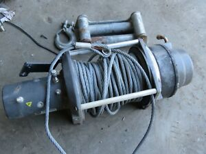 Warn Winch M12000 Winch Off Truck No Control Clean