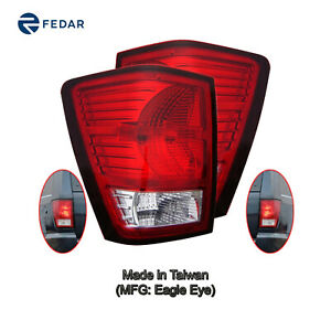 Tail Light Fit 2007 2008 2009 2010 Jeep Grand Cherokee Pair