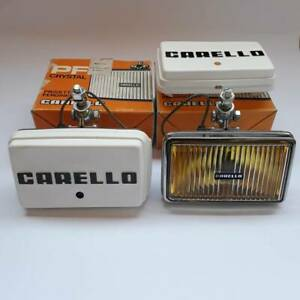 Ferrari 365bb 512bb Lamborghini Countach Carello Yellow Fog Lights Nickel Italy