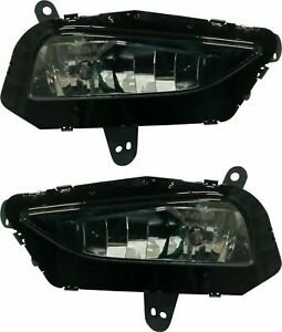 Fit Chevy Chevrolet Cruze 2016 2019 Fog Lights Driving Bumper Lamps Pair