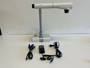 Elmo Tt 02rx Document Camera Visual Presenter W Ac Adapter Vga Cable