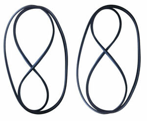 New Set Of 2 Full Door Weatherstrip Rubber Seal For Jeep Wrangler Tj 1997 2006
